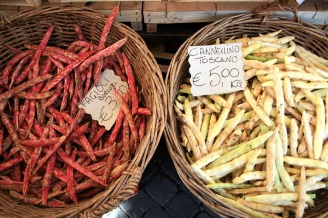 San Teodoro Market summer produce