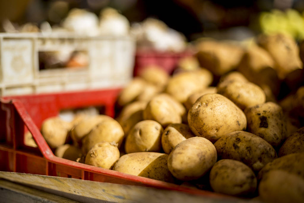 potatoes are pantry baiscs