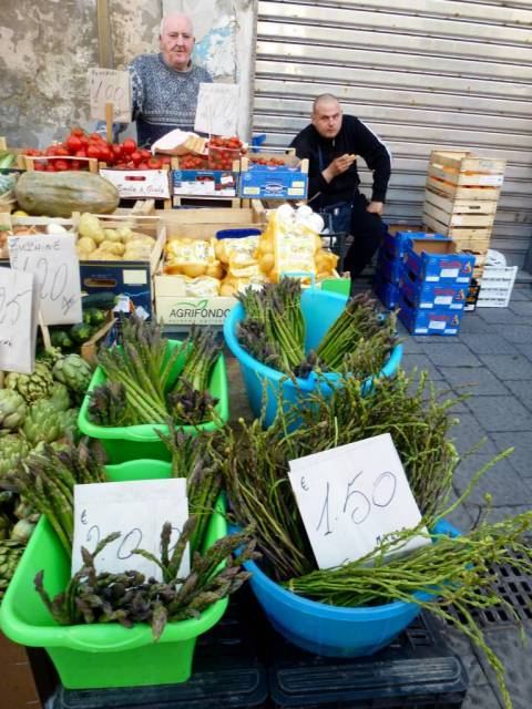 Ortigia market (Siracusa)