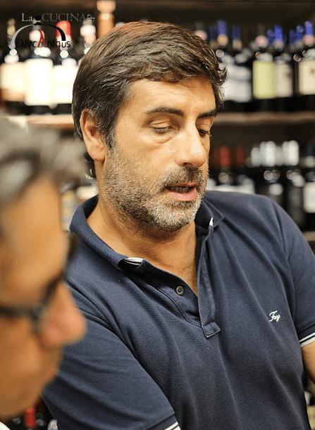 Alessandro Bulzoni of Enoteca Bulzoni in Rome