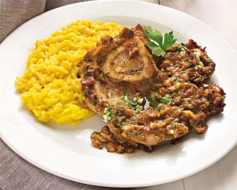 ossobuco and risotto alla milanese