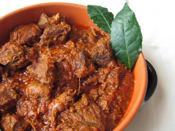 Tuscan wild boar stew