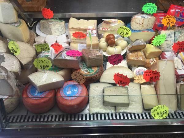 alimentari, the Italian corner store