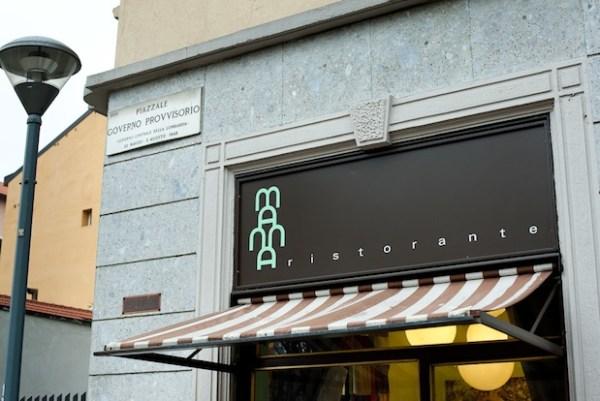 Manna restaurant in Milan