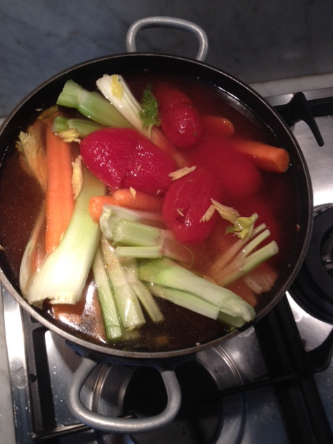 brodo vegetale, healthy vegetable broth