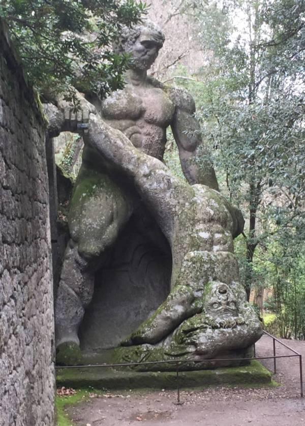 Bomarzo Monster Park · www.italyfoodandwinetours.com
