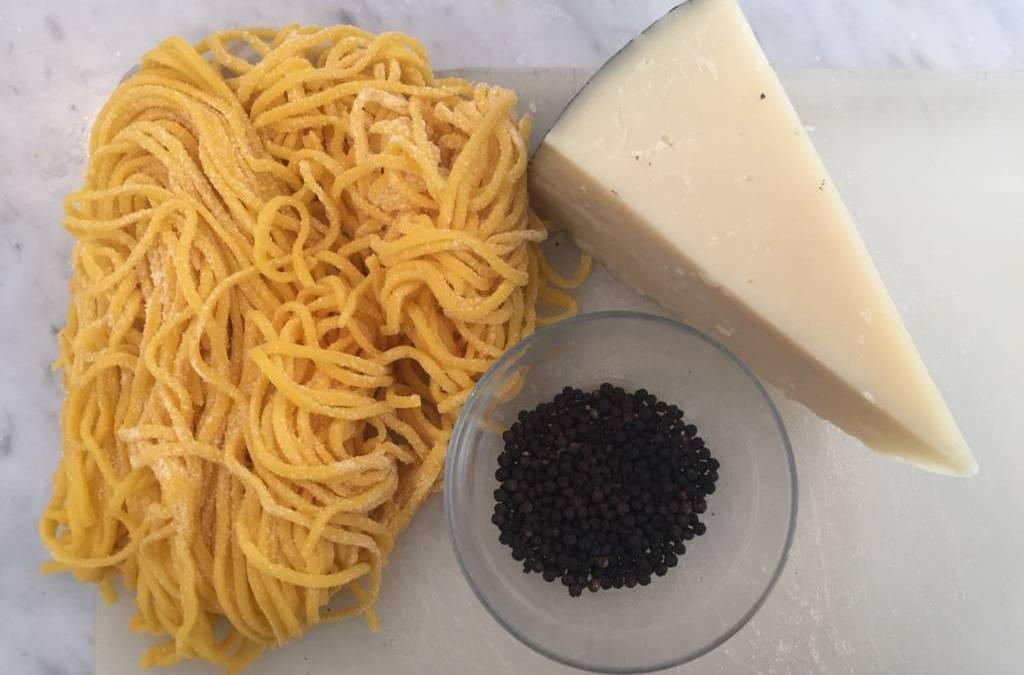 Learning to Make Pasta Cacio e Pepe