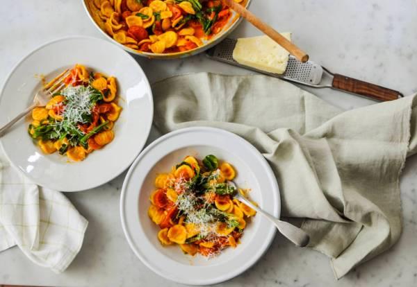 fresh pasta: orecchiette