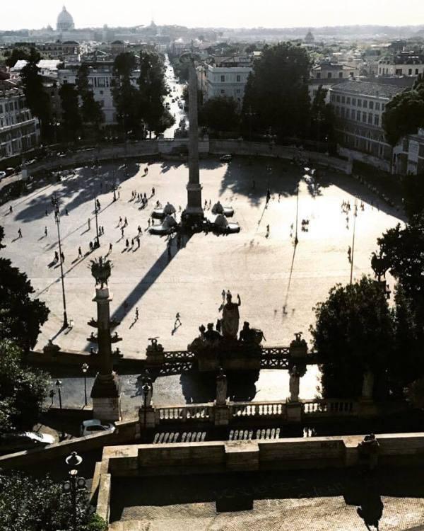 Villa Borghese Piazza del Popolo