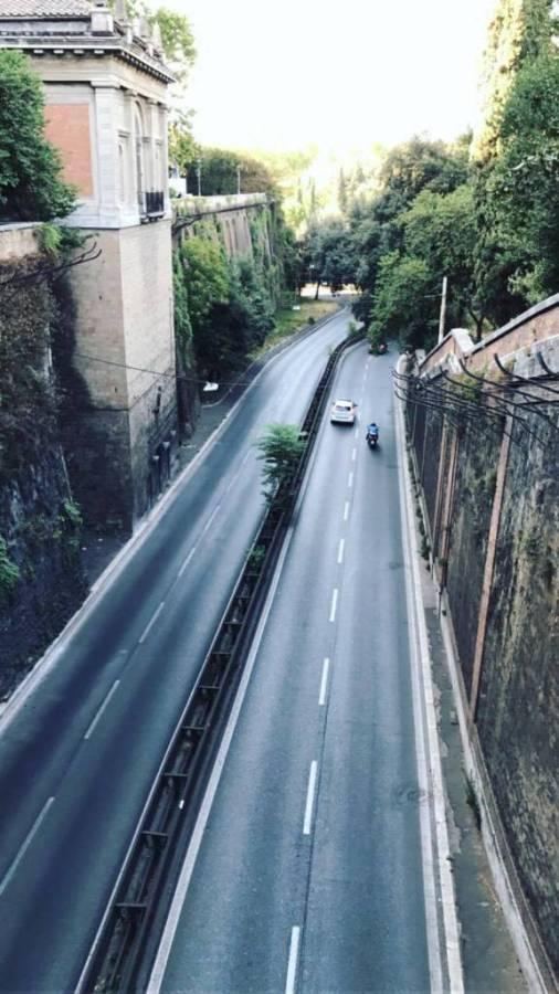 Villa Borghese Muro Torto