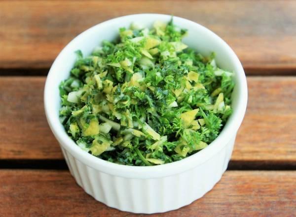 The Herb Garden: parsley