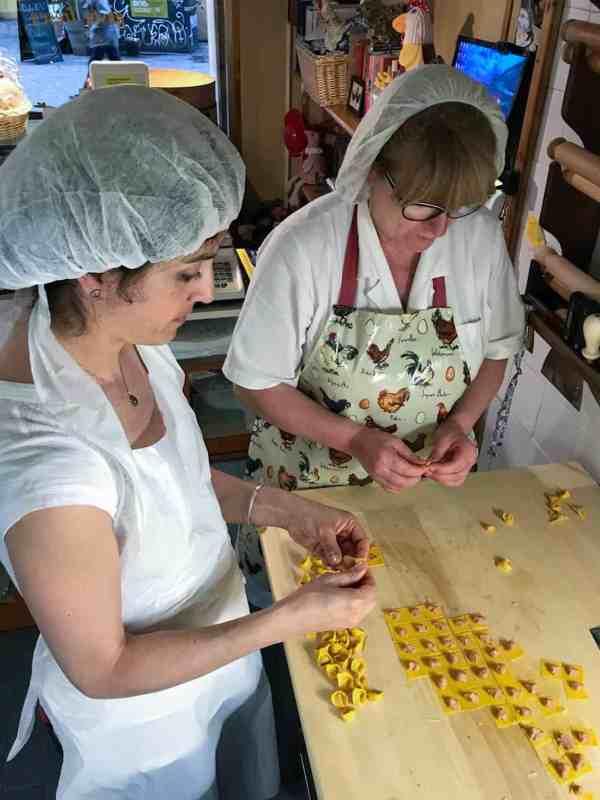 Tortellini Making