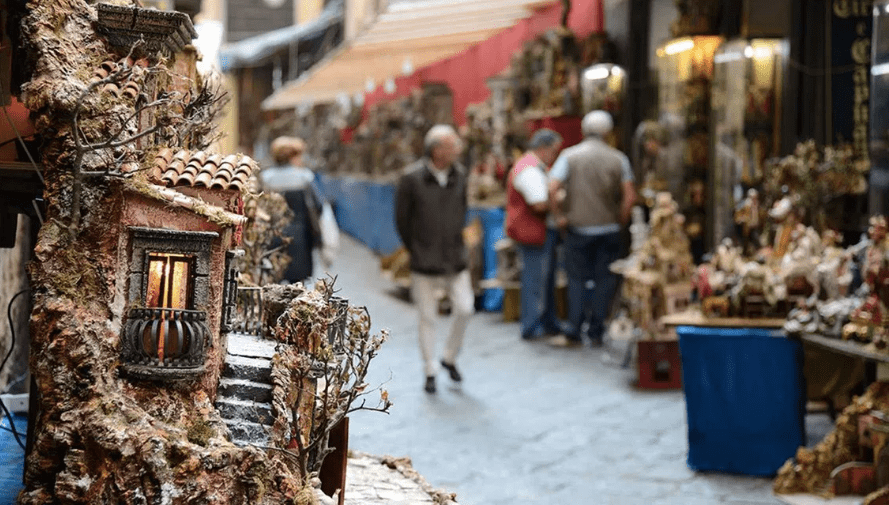 Christmas Markets and Presepi in Naples