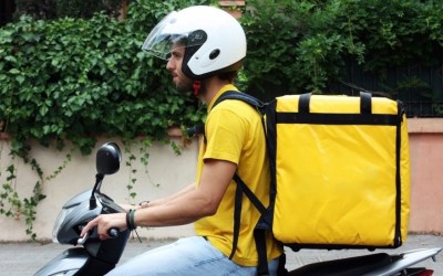 Food delivery in Rome