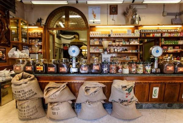 Ideal Caffè Stagnitta, Palermo's oldest coffee roaster