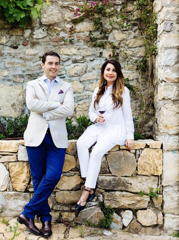 Our Italians - Paolo and daniela of Casa Ceccatelli