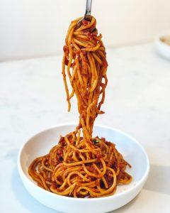 use passata on pasta