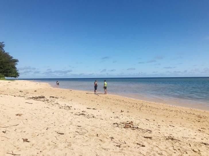 Anini Beach, Kauai with Kids