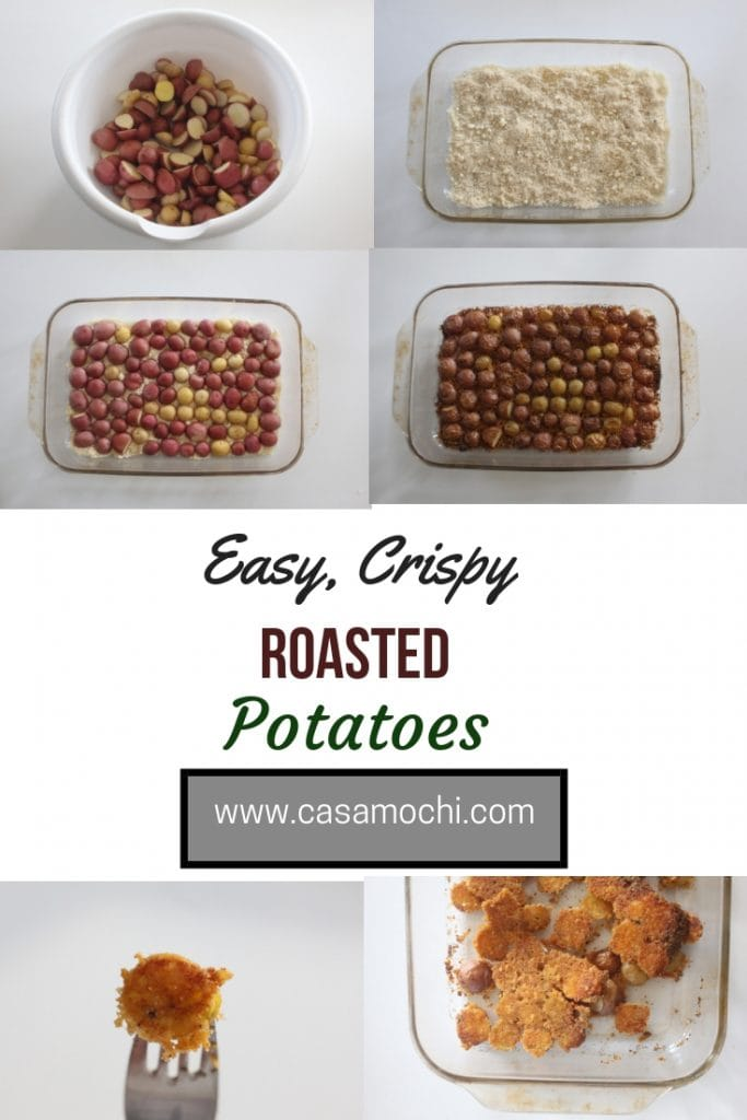 Easy crispy roasted potatoes