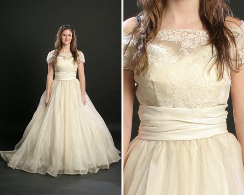Vestido De Noiva Estilo Vintage