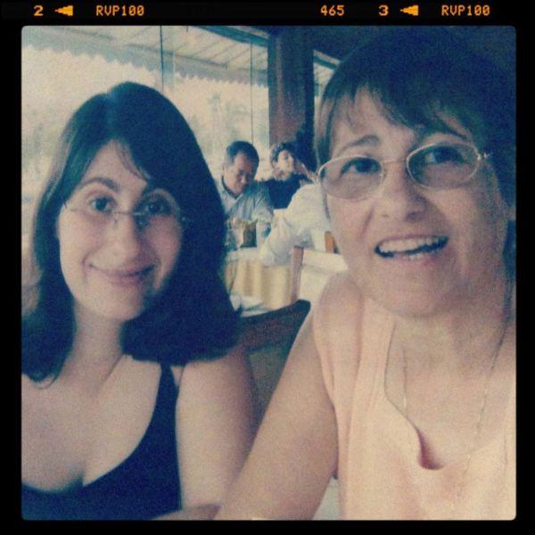 Fernanda e mamãe