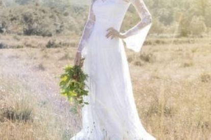Vestido de noiva simples Casando sem Grana