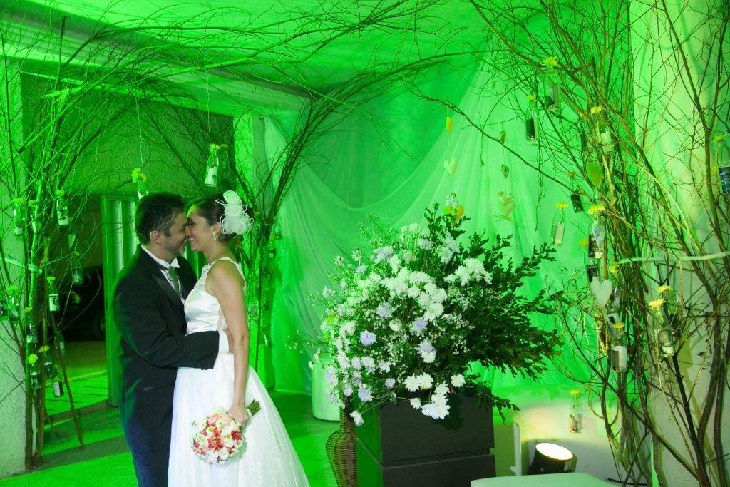 Casamento real e econômico Wilma e Marcus
