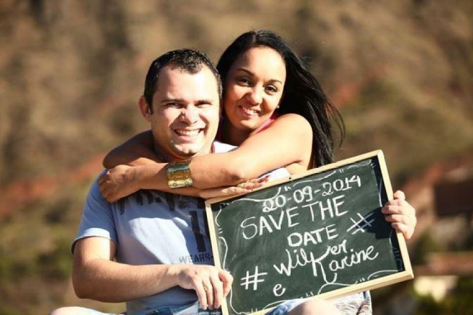 Save the Date   Karine e Wilker