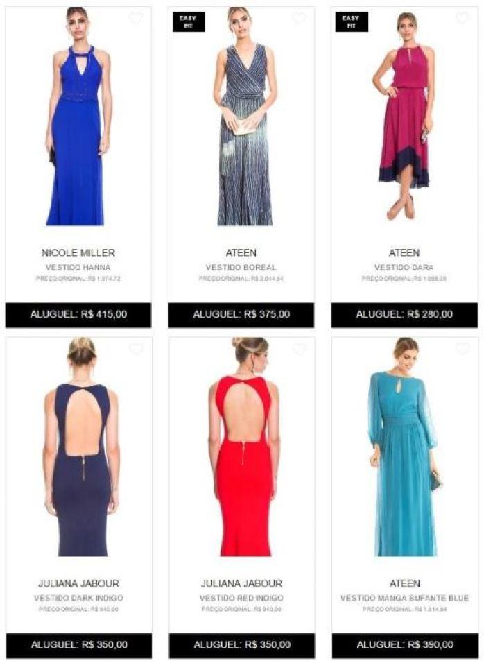 Casando sem Grana Dress and Go madrinhas de casamento convidadas vestidos economicos locacao online