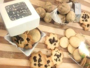 Renda extra para o casamento Biscoitos amanteigados com toque de noz-moscada
