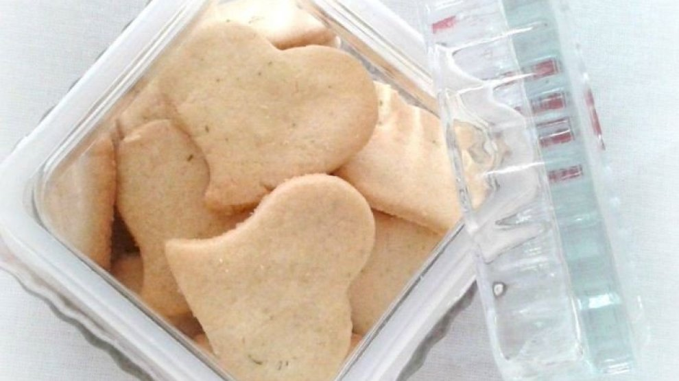 Renda extra para casamento: biscoitos amanteigados