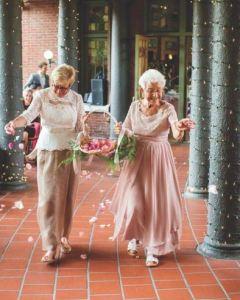 avós casamento dia