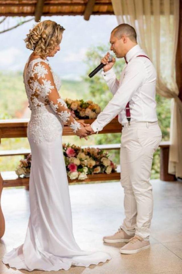 vestido noiva casamento ES