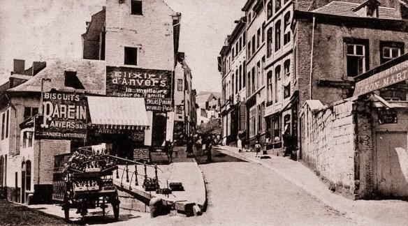 le quartier pierreuse (vielle photo)