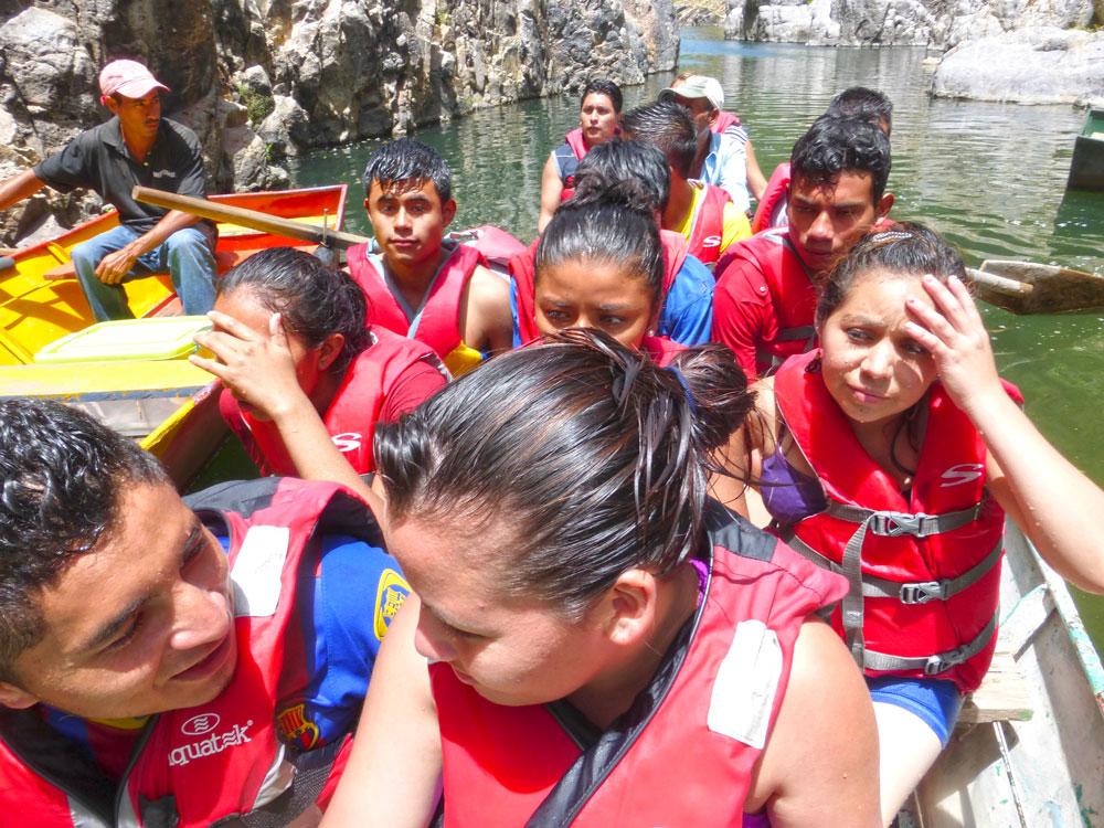Activite 2014 canyon de Somoto