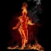 ...chega-lhe fogo, incendeia-lhe os sentidos
