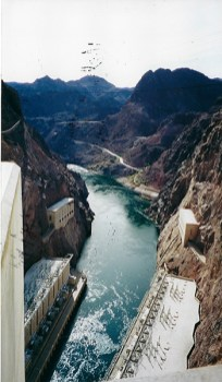 Hover Dam, USA.