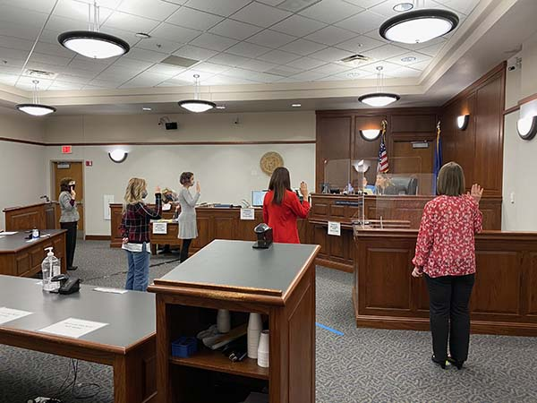 New Advocates Sworn in