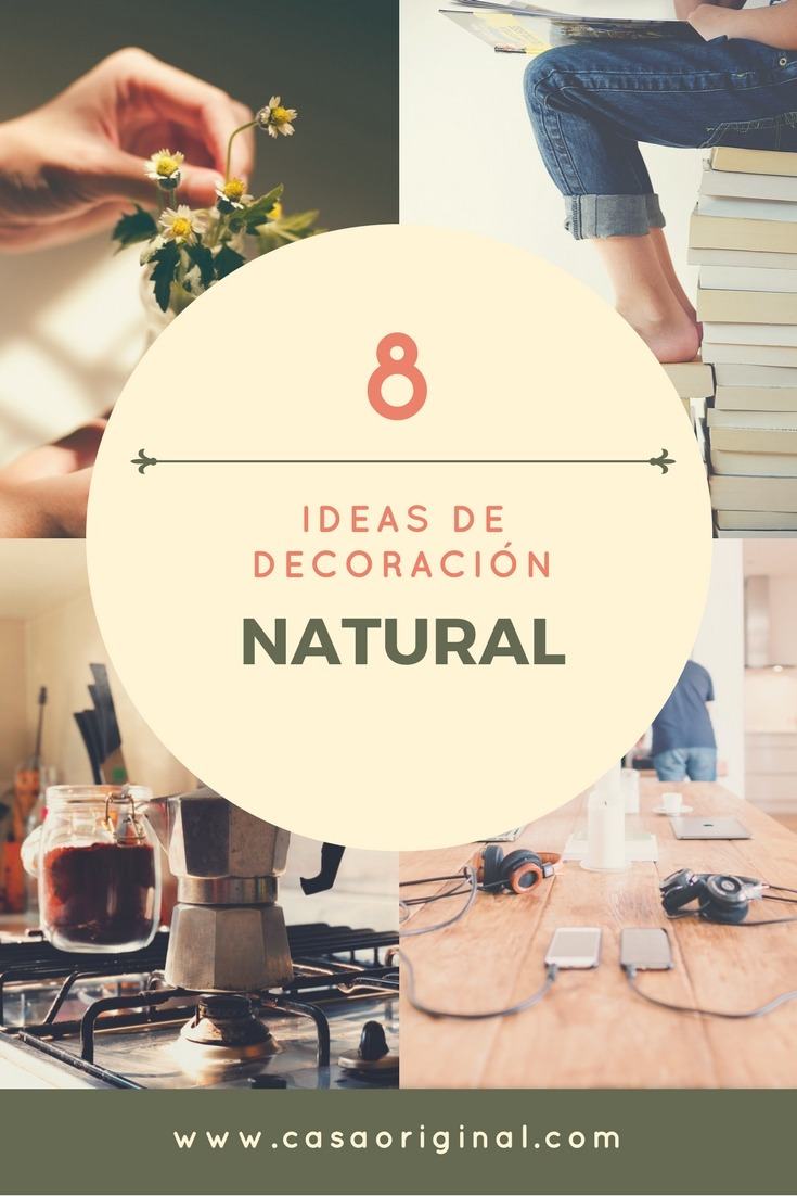 Decoracion natural