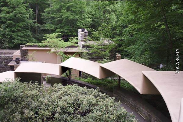 Casa de la cascada y su casa de huéspedes