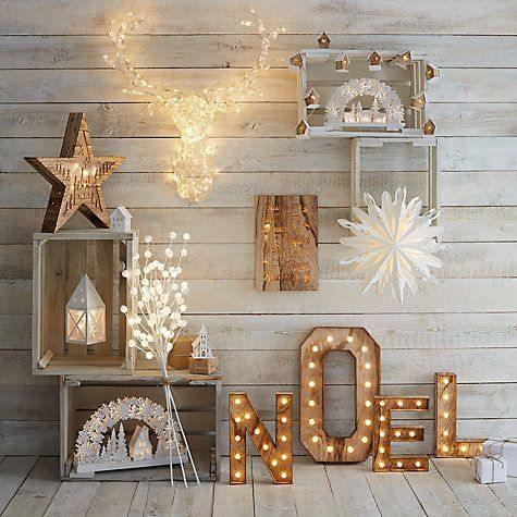 adornos navideños luminosos