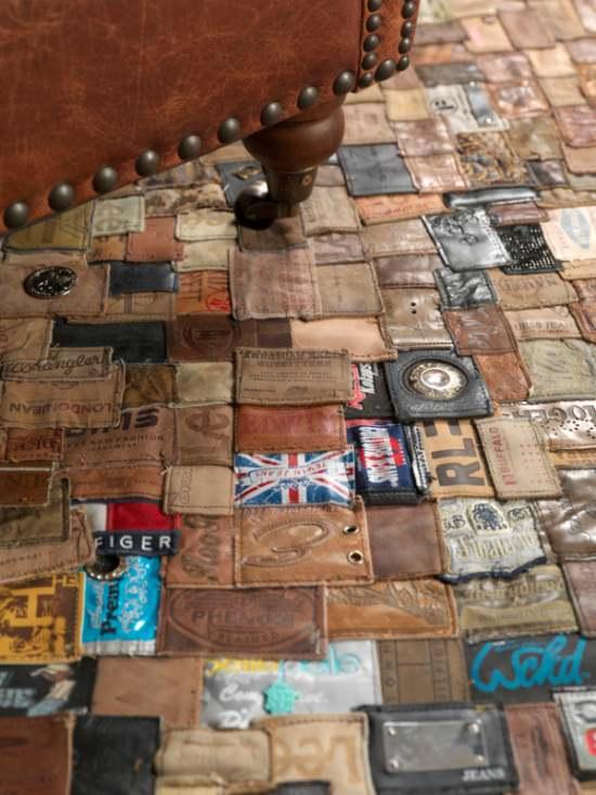 alfombras originales de material reciclado