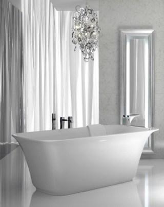 bañera de diseño exento