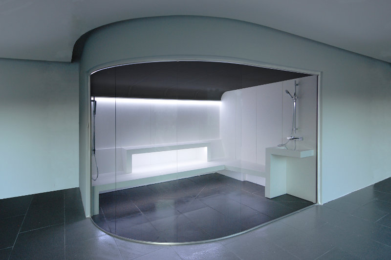 baño de vapor