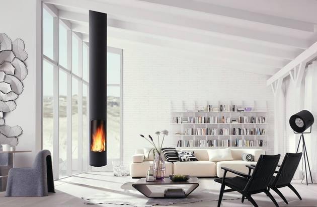 calefacción para interiores actuales