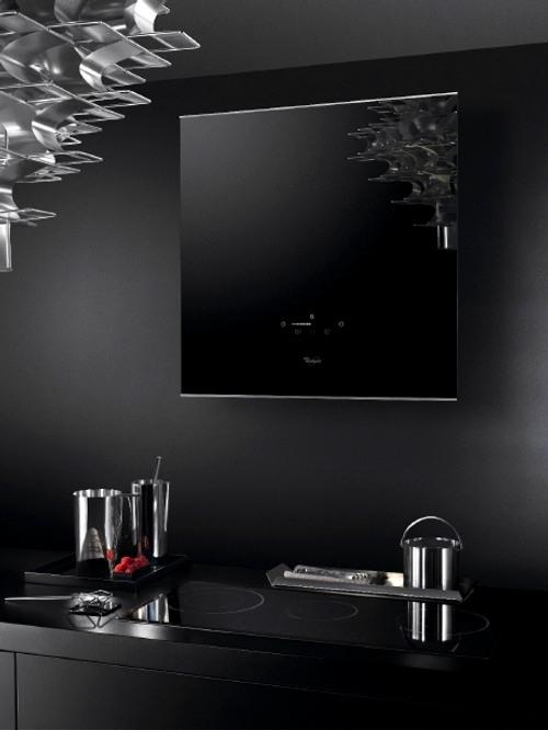 Campana de cocina de cristal moderna y decorativa de whirlpool - Campanas de cocina de cristal ...