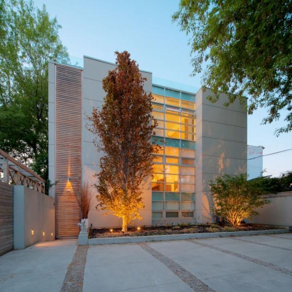 Casa urbana y moderna por cecconi simone - Modern infill house cecconi simone ...