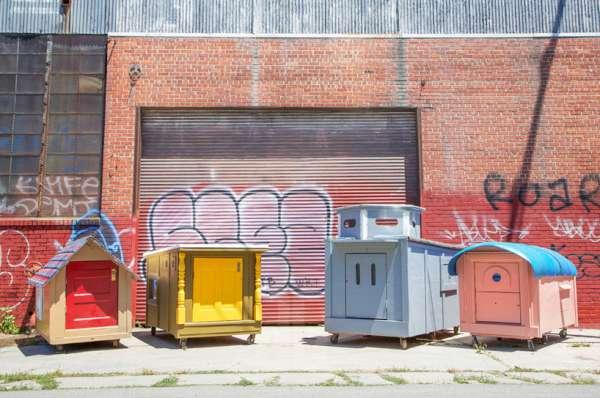 casas para personas sin hogar