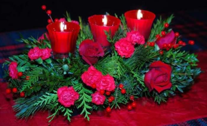 Ms Ideas de Centros de Mesa y Arreglos Florales para Navidad