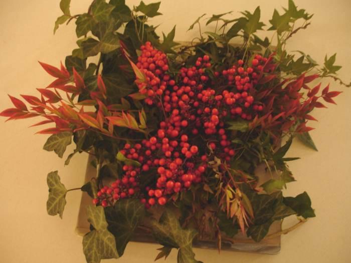 M s ideas de centros de mesa y arreglos florales para navidad - Centros de mesa navidad ...
